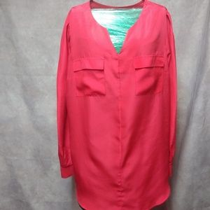XL/TG Mossimo long sleeve blouse